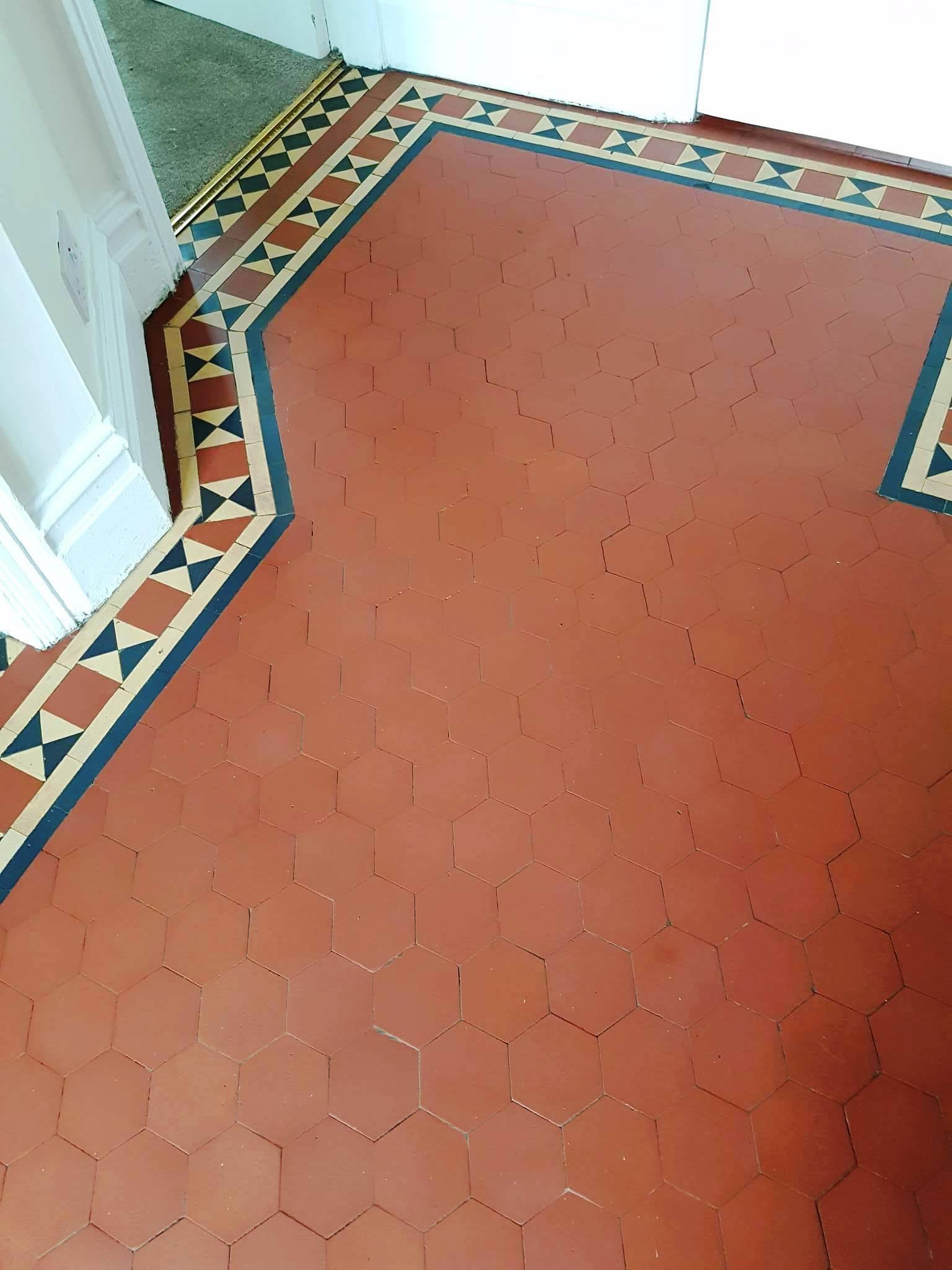 Victorian floor after renovation